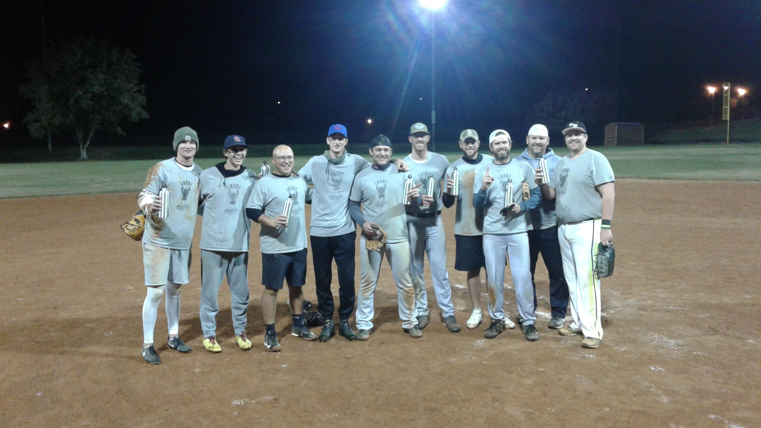 Fall 2017 Men's League Champions - Swamp Donkeys