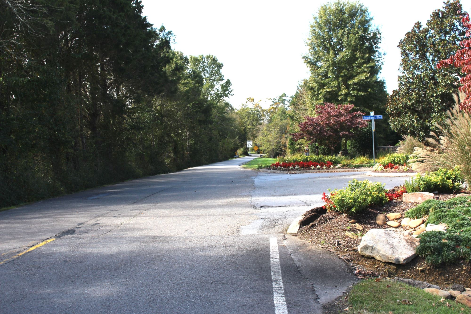 Photo of Union Road at Fox Run subdivision